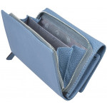 Dámska kožená peňaženka SEGALI 7074 celestial