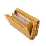 Dámska kožená peňaženka SEGALI 7074 žltá