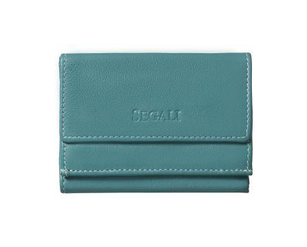 Dámska kožená peňaženka SEGALI 1756 emerald