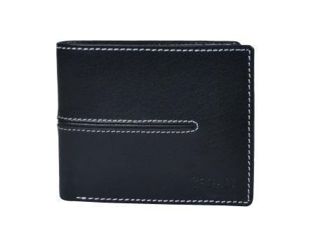 Pánská kožená peněženka s RFID SEGALI 7105 černá