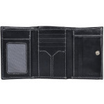 Dámska kožená peňaženka SEGALI 7023 Z čierna