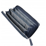 Dámska kožená peňaženka SEGALI 7079 modrá/ružová