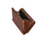 Dámska kožená peňaženka SEGALI 870 koňak