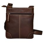 Pánský kožený crossbag SEGALI 25575 tan