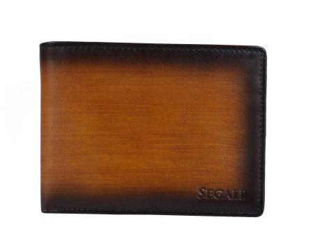 Pánska kožená peňaženka SEGALI 929 204 030 koňak