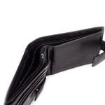 Pánska kožená peňaženka SEGALI 3491 čierna