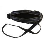 Pánský kožený crossbag SEGALI 25578 černý