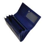Dámska kožená peňaženka SEGALI 28 modrá