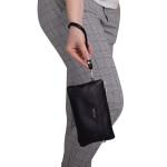 Dámská kožená kabelka SEGALI 8002 černá