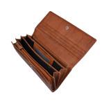 Dámska kožená peňaženka SEGALI 7120 koňak