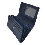 Dámska kožená peňaženka SEGALI 7052 indigo