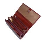 Dámska kožená peňaženka SEGALI 720 116 704 červená