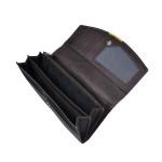 Dámska kožená peňaženka SEGALI 7063 hnedá