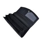 Dámska kožená peňaženka SEGALI 7056 čierna