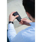 Pánska kožena manikúra SEGALI 230401-404 čierna