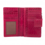 Dámska kožená peňaženka SEGALI 910 19 8184 ružová