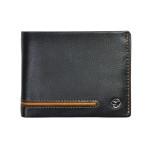 Pánska kožená peňaženka SEGALI 753 115 026 čierna/koňak