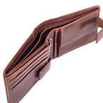 Pánska kožená peňaženka SEGALI 3491 hnedá