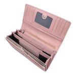Dámska kožená peňaženka SEGALI 7075 baby pink