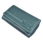 Dámska kožená peňaženka SEGALI 1770 turk. zelená
