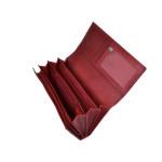 Dámska kožená peňaženka SEGALI 07 červená