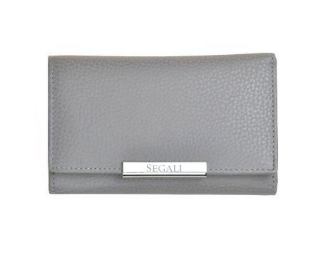 Dámska kožená peňaženka SEGALI 7074 taupe