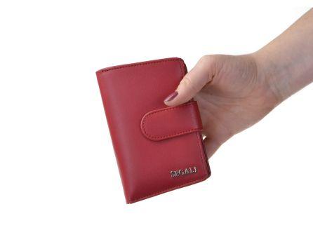 Dámska kožená peňaženka SEGALI 50313102 červená