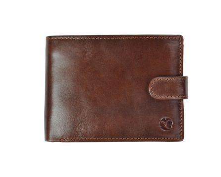 Pánská kožená peněženka SEGALI 103AL koňak