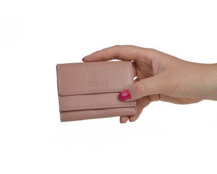 Dámska kožená peňaženka SEGALI 1756 baby pink