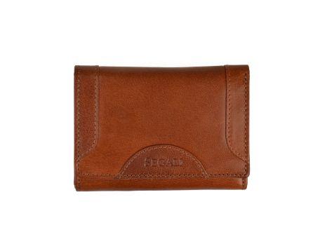 Dámska kožená peňaženka SEGALI 7196 B koňak