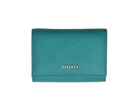 Dámska kožená peňaženka SEGALI 7106 B capri sea