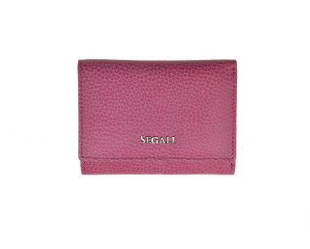 Dámská kožená peněženka SEGALI 7106 B fucsia
