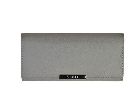 Dámska kožená peňaženka SEGALI 7066 šedá