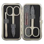 Dámska kožená manikúra SEGALI 230401-449 čierna