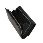 Dámska kožená peňaženka SEGALI 7074 čierna
