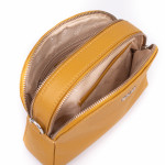 Kožená kabelka SEGALI 12 mostaza