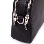 Kožená kabelka SEGALI 12 čierna