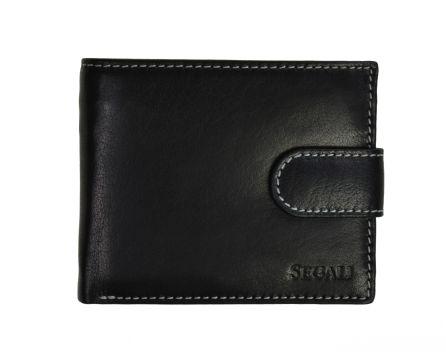 Pánska kožená peňaženka SEGALI 2016 čierna