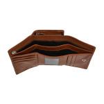 Dámska kožená peňaženka SEGALI 3305 CD koňak