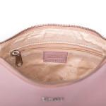 Dámska kožená kabelka SEGALI A6B baby pink