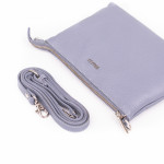 Dámska kožená kabelka SEGALI A6B lavender