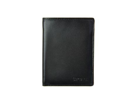 Pánska kožená peňaženka SEGALI 7476 čierna