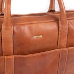 Pánska kožená taška SEGALI 7009 koňak