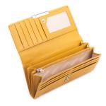 Dámska kožená peňaženka SEGALI 7066 žltá