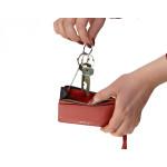 Kľúčenka kožená SEGALI 7290 A červená