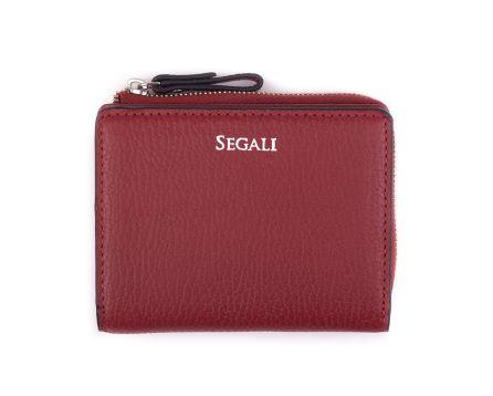 Dámska kožená peňaženka SEGALI 7412 portwine