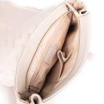 Dámsky batoh kožený SEGALI 9027 blanco roto