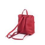 Dámsky batoh kožený SEGALI 9027 rojo