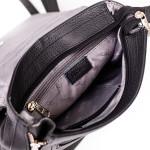 Dámsky batoh kožený SEGALI 9027 čierny