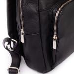 Dámsky batoh kožený SEGALI 9026 čierny